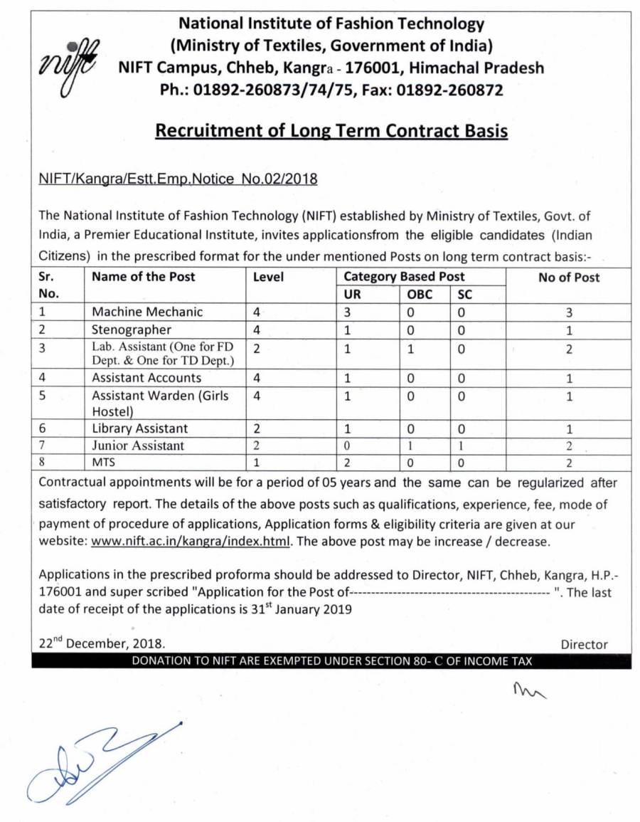 NIFT Recruitment Advt 2018-01.jpg