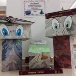 Premio al pesebre más ilustrado, corporativo y minimalista. Biblioteca SJD