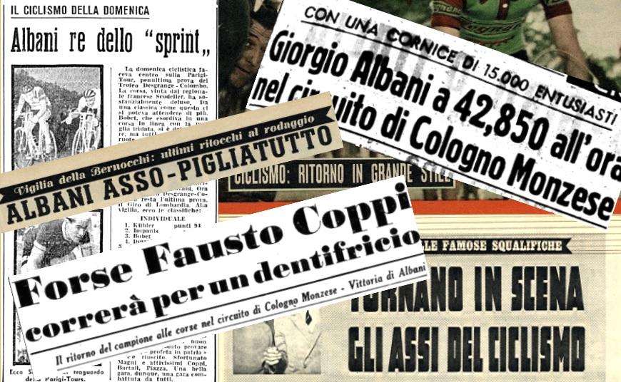 Il Circuito degli Assi 1954 – La cronaca giornalistica