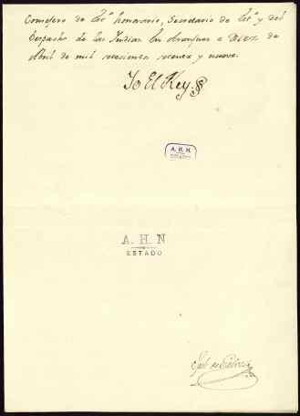 Convención entre Expaña y Francia celebrada en Aranjuez en 1759 para la declaración de guerra contra Gran Bretaña