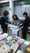 Mercadillo de libros.  Noviembre 2015