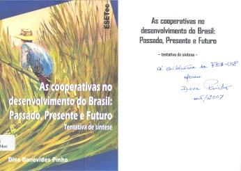 As cooperativas no desenvolvimento do Brasil