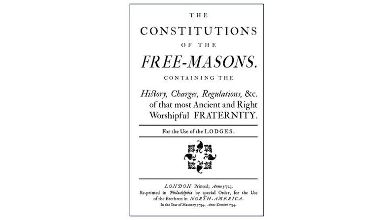 Le Costituzioni dei Liberi Muratori