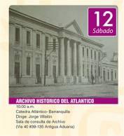 Cátedra Atlántico- Barranquilla con el historiador Jorge Villalón