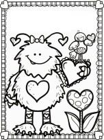 monstruo valentines corazon valentin amor