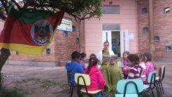 Emei Ilha da Pintada trabalhou com as tradições gaúchas