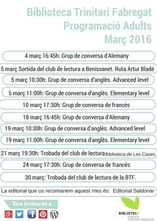 març 2016 adults