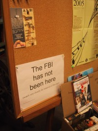One proud example of librarians NOT being uncritical and indifferent toward Govt info