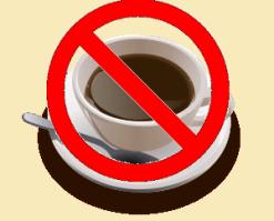 ingen kaffi