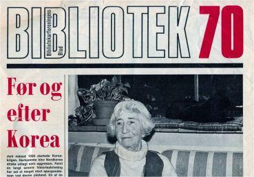 """35 deltagere mødtes 25. november 2015 til Peter Heibergs foredrag om bibliotekar Ida Bachmann (1900-1995), som var en foregangskvinde for bibliotekssagen og en aktiv politisk debattør som forkæmper for kvinders rettigheder og f.eks. som en stærk kritiker af USA's engagement i Korea-krigen. Hendes store betydning for folkebibliotekerne i Danmark byggede bl.a. på hendes arbejdsophold på amerikanske biblioteker. Hun sluttede som leder af Kolding Bibliotek. Hendes samfundsengagement førte hende ind i hjælpearbejdet for anti-nazistiske tyske emigranter inden Besættelsen. Krigsårene tilbragte hun i New York omkring en kreds, som omfattede bl.a. Bertolt Brecht og Ruth Berlau. Hun kom i efterretningstjenesternes søgelys på grund af sine politiske synspunkter. Peter Heiberg sammenlignede Ida Bachmann med Thomas Døssing og fremhævede hendes betydning for dansk biblioteksvæsen: """"De var begge stærkt politisk engagerede og forblev ikke desto mindre fortalere for åndsfriheden. De var styret af et glødende frisind og nærede en aldrig svigtende tillid til bibliotekernes betydning for oplysning og folkedannelse."""""""