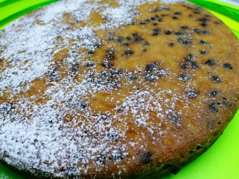 torta grano cotto e cioccolato