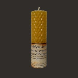 SUCCESS AND PROSPERITY SPELL CANDLE