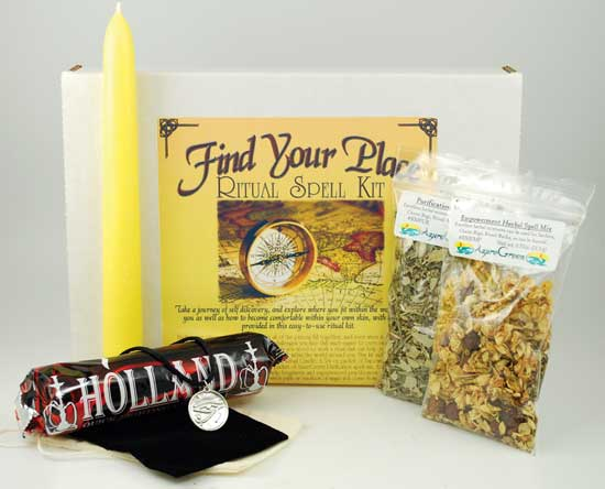 RBKFIN-find your place ritual spell kit