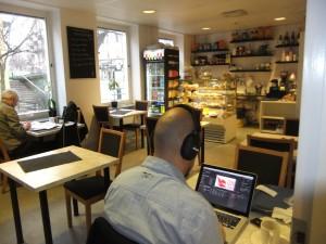 Cafeteria mit WLAN-Anschluß