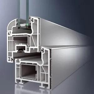 Infisso in alluminio-PVC