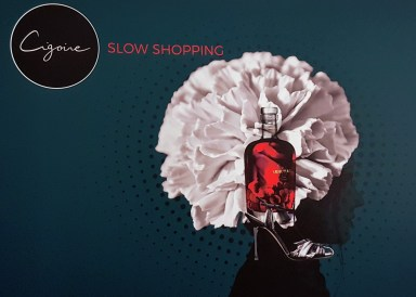 Logo slow shopping by Cigoire