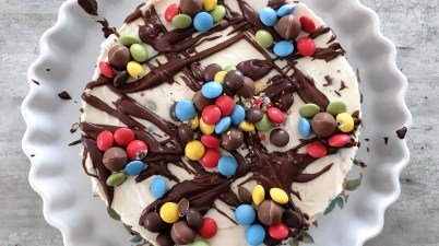 Cheesecake sans cuisson aux smarties ©Ysa_smile