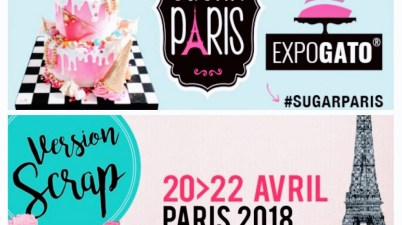 Affiches Sugar Paris & Version Scrap 2018