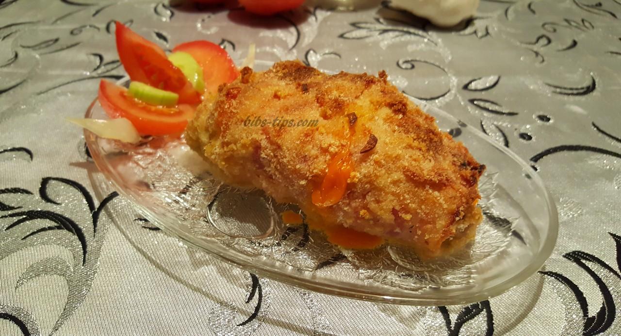 Пилешки ролца с два вида сирене!
