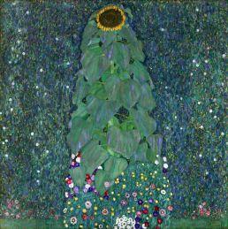Gustav Klimt -The Sunflowers (1907)