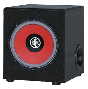 RtR Eviction Series RtR-EV1200 Front-Firing Powered Subwoofer
