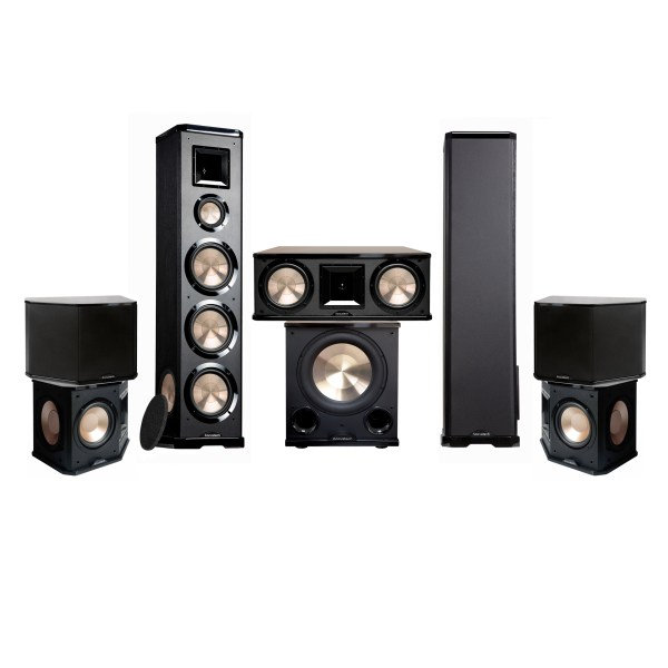 Acoustech 7.1 PL-980-12 System - 2500W 5.1 Home Theater System