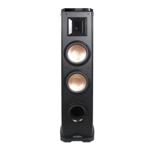 "Acoustech PL-89II - 600W 2-Way Tower Speaker w/Lacquer & Dual 8"" Woofers, 6 1/2"" Horn Tweeter front view"