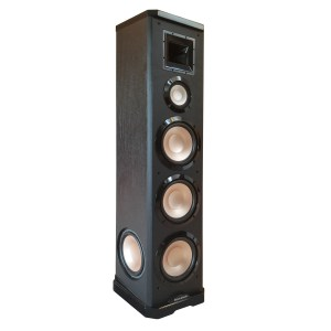 Acoustech PL-980 Left & Right - 750W 3-Way Tower Speaker 3/4 view