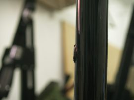 powdercoat gravel bice bicycles internal cable routing