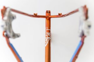 fatbike offroad bespoke handmade bice bicycles orange campari