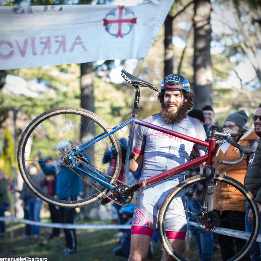 Andrea Pirazzoli new singlespeed world champion with Bice Bicycles Ingrid Components Verona SSCXWCITA17