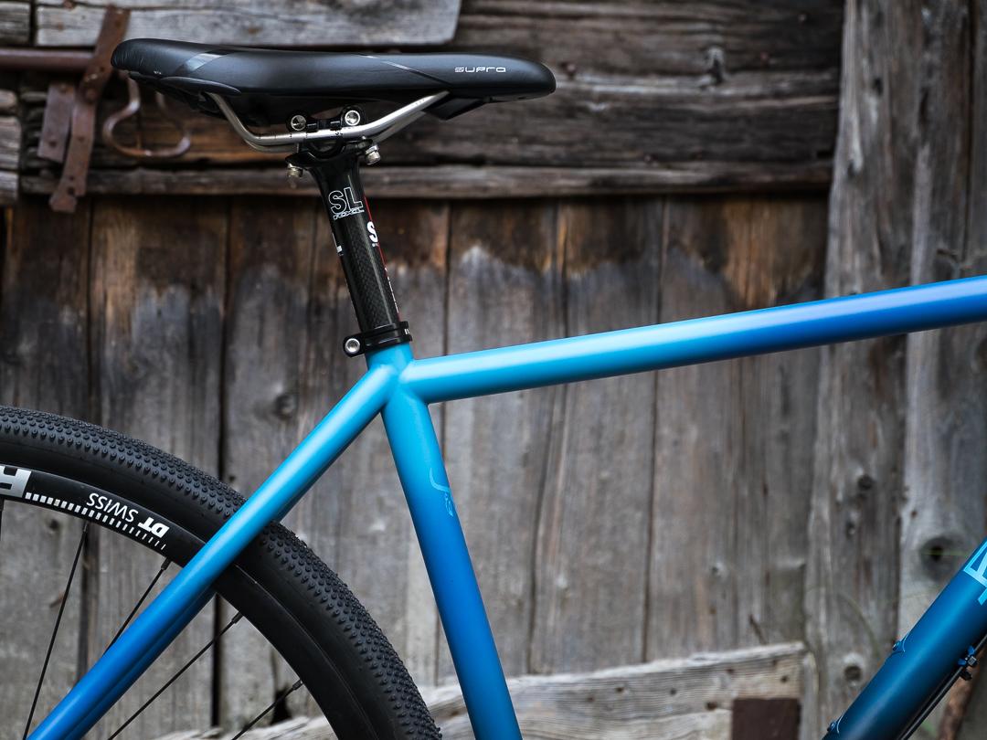 Talisman Bikepacking Gravel Complete Bike - Bice Bicycles - Copyright Rosciglione