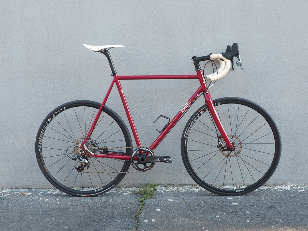 red Dorian Endurance Road Bicycles - Bice Bicycles Custom Steel Frames