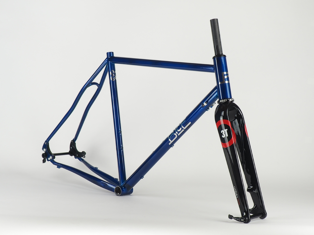 ink blue croce cx gravel - Bice Bicycles
