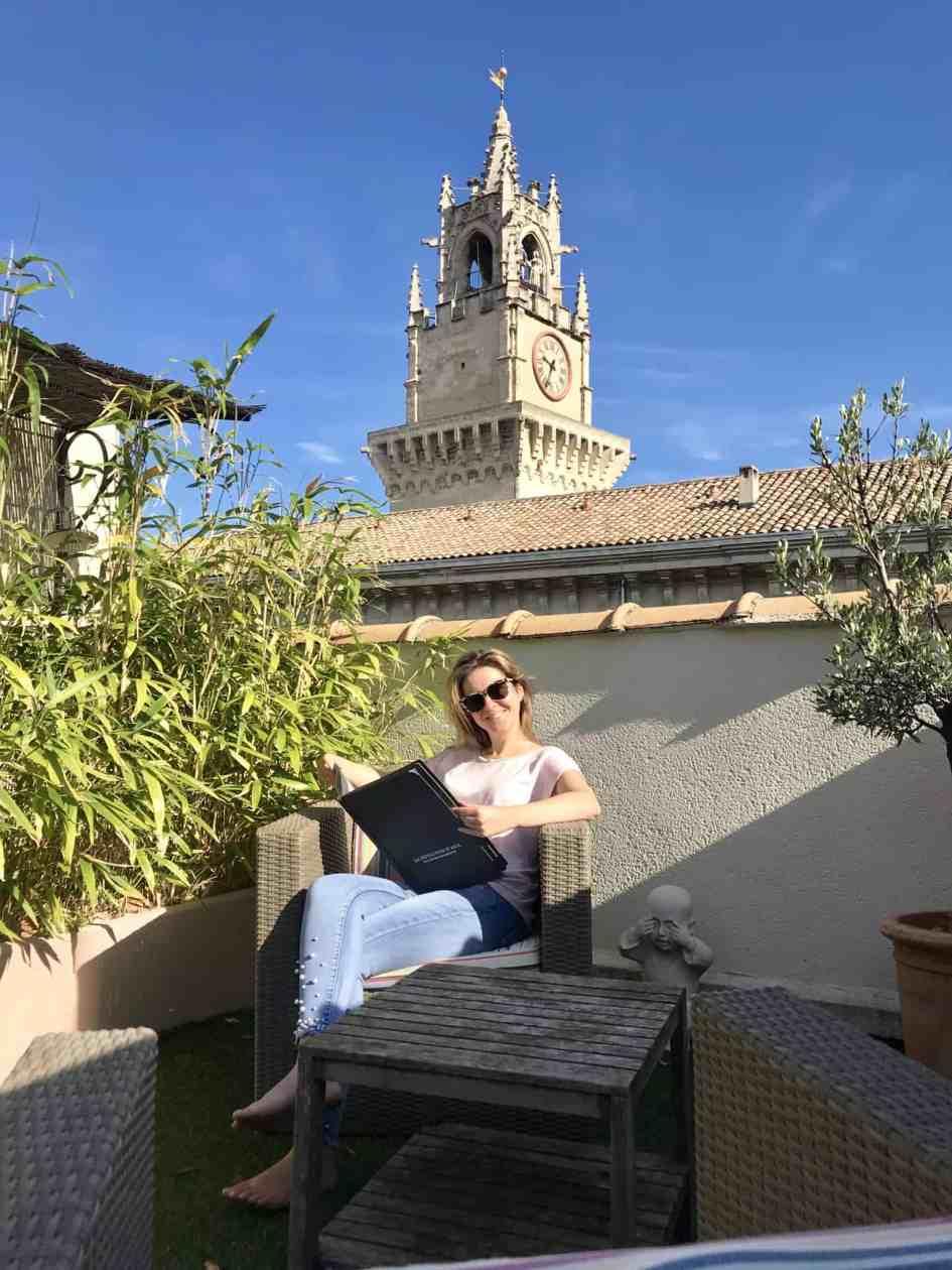Hotel horloge Avignon
