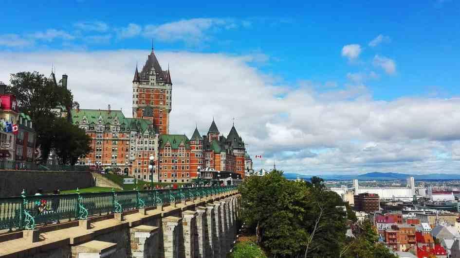 Québec plaines d'Abraham
