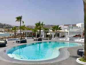 Mykonos Blanc Hotel Ornos Beach