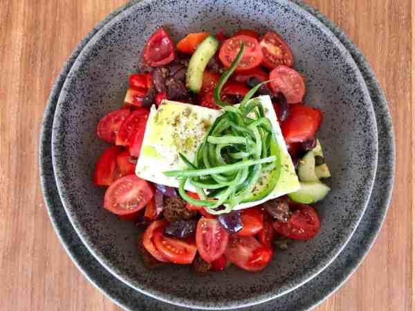 Greek food Pasaji
