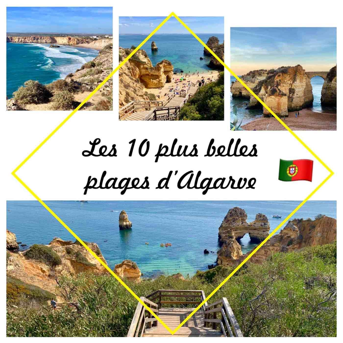 plus belles plages d'Algarve