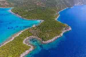 Peljesac peninsula croatie