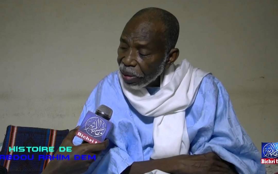 Histoire de Serigne Abdou Rahim Dem un Grand Savant Islamique