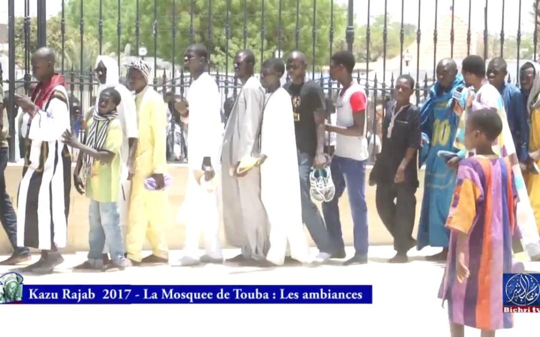 Kazu Rajab 2017  La Mosquee de Touba Les ambiances