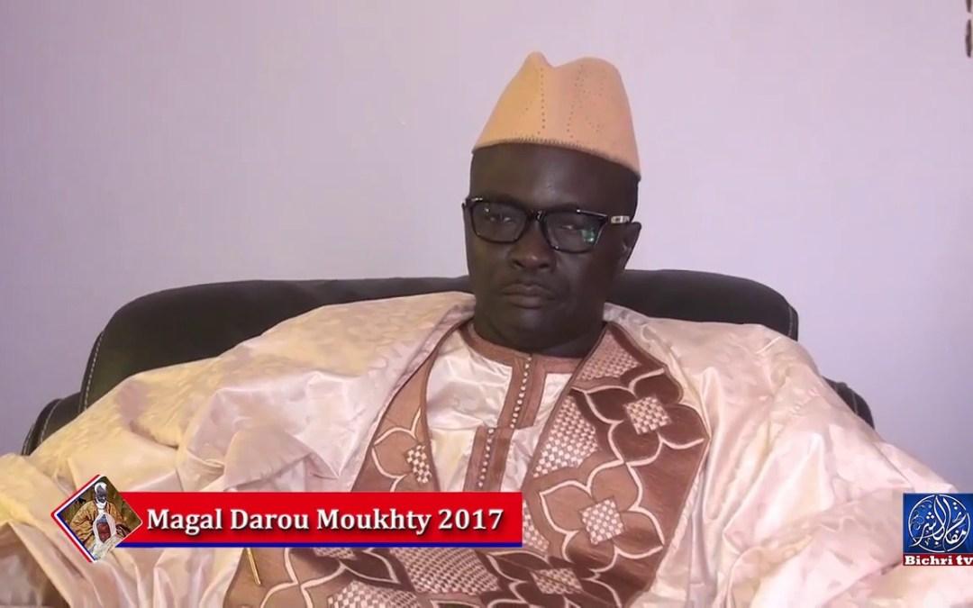 Magal Darou Mouhty 2017   Entretien avec Ibrahima Sall