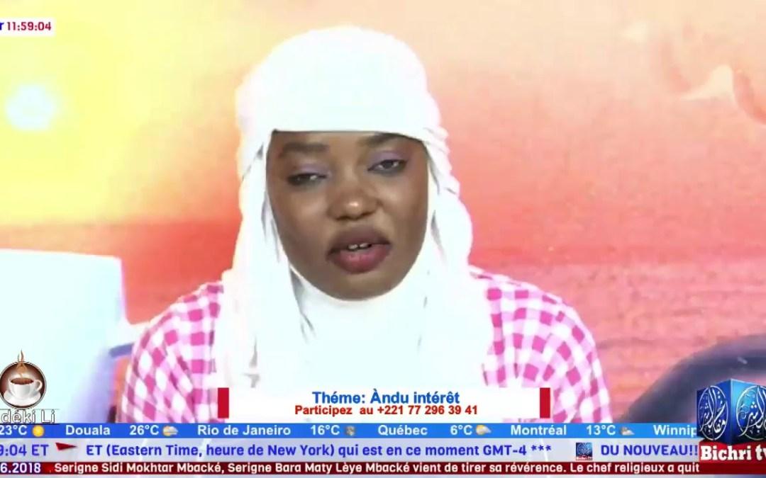 Mafatihul Bichri TV: LIVE | Emission Matinale Ndeki li #222 | Théme:Àndu  intérêt