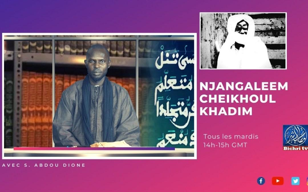 LIVE | Njangaleem cheikhoul khadim Tome 4 Tazawudu Chubaan part #02