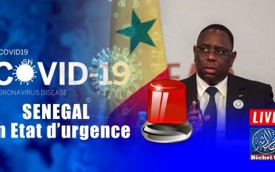 🔴En direct   COVID19 UPDATE : Un mois de Coronavirus au Sénégal, 30 jours de fiévre