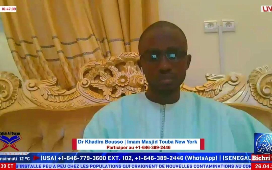 Tafsir  Al Quran: Al Imram Ayah 171 | Fatwah Dr. Khadim Bousso Imam
