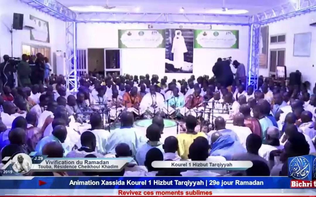 LIVE | Amination Xassida Kourel 1 Hizbut Tarqiyyah | 29eme Jour Ramadan