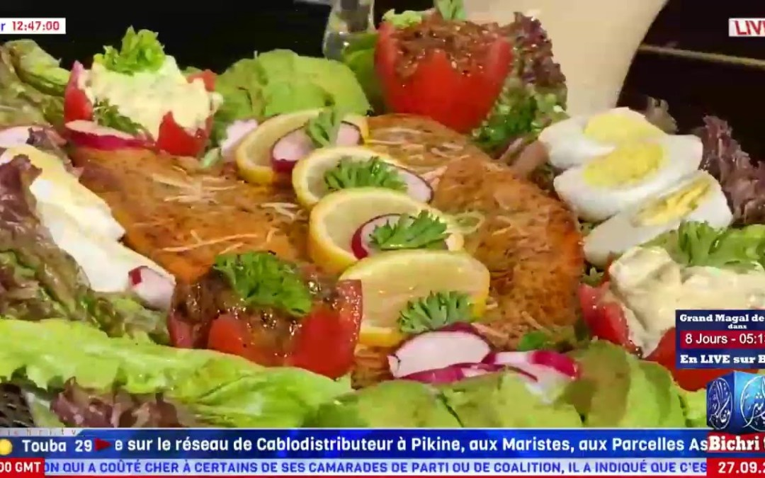 Live Show   Bernde ak Sokhna Billo   Plat du Jour: Saumon en croûte de parmesan