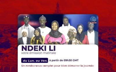 🛑LIVE   Waccayu Magal Ak Emission Matinale Ndékki li   Théme: Serigne Abdou lahad MBACKE